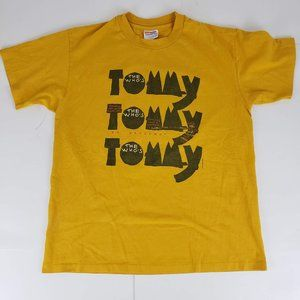 The Whos Tommy Vintage 92 Single Stitch Band Shirt